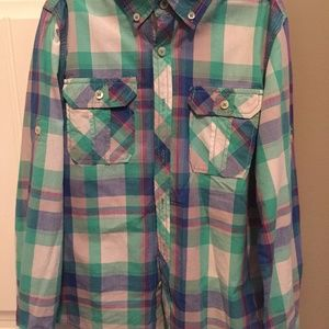 Boys Dress Shirt Size M